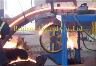 wheel casting machine