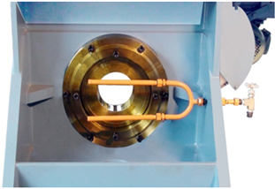 cooling and lubricating system of die