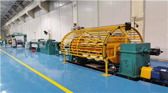 Aluminum CTC Continuously Transposed Conductor line