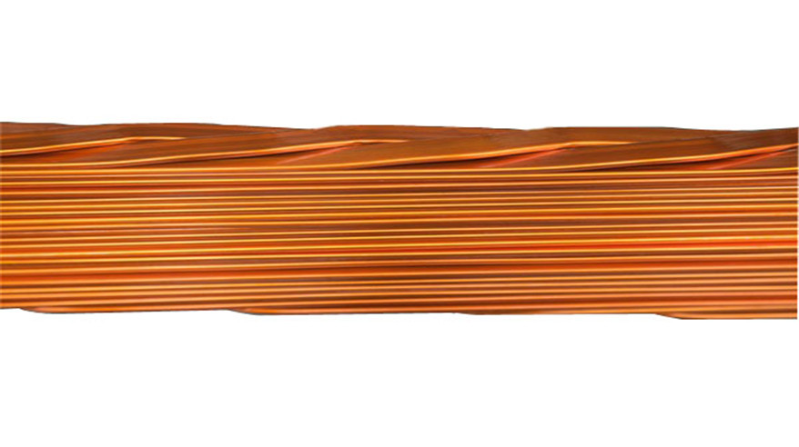 Copper CTC Continuously Transposed Conductor line