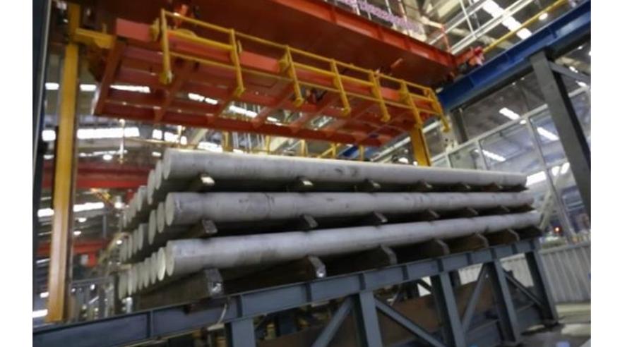 Aluminum Billet Casting line